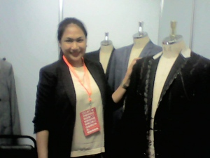 Tinio Suits PR Manager Ms. Patty