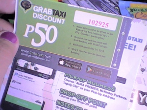 Discount voucher from GraxTaxi