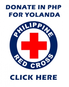 Donate to Red Cross for #YolandaPH victims