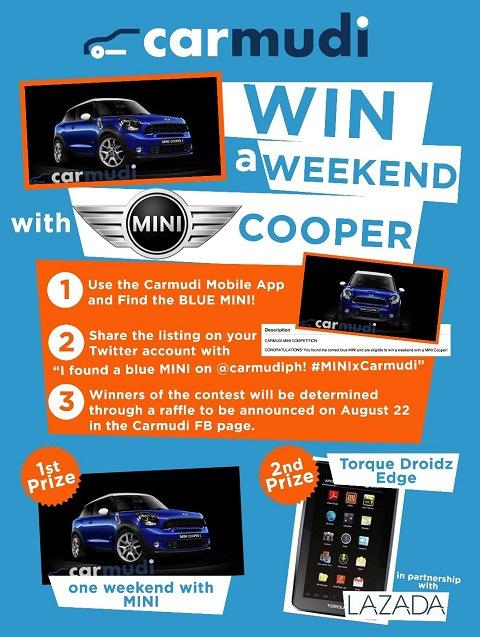 Press Release- Ride a Mini Cooper for a Weekend