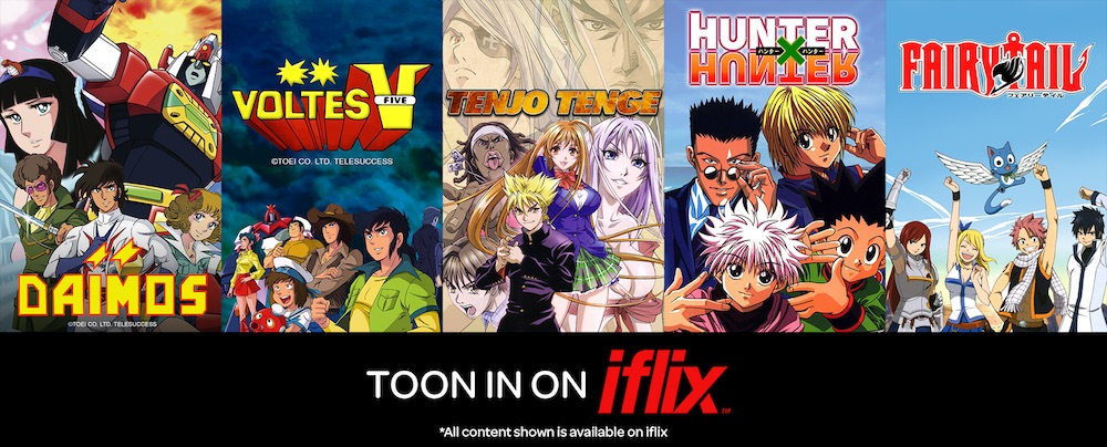 Classic Animes on IFlix!