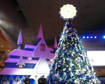 SM Fairview unveils Frozen-themed Christmas extravaganza!